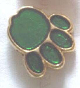 Paw-Pin-Badge-Green