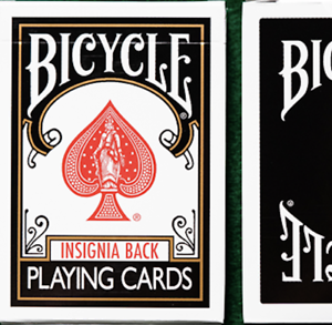 Playing Cards Black Bicycle Insignia Back