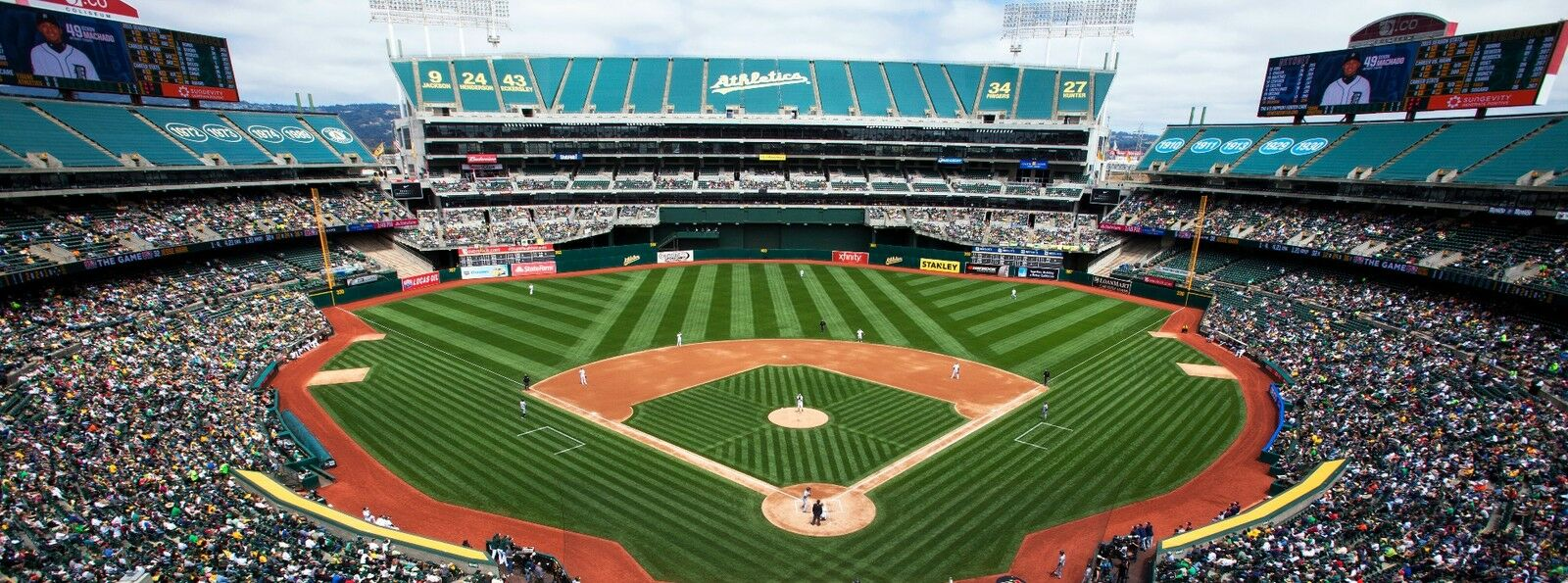 Atlanta Braves at Oakland Athletics