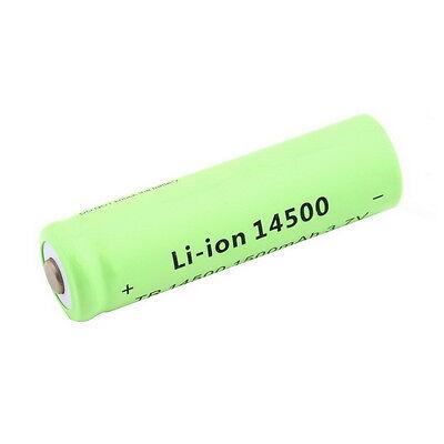 3.7V 1500mAh TR 14500 Li-ion Rechargeable Battery for Flashlight V4