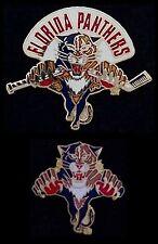 Lot/Set of 2 Florida Panthers Pin~NHL~broken stick~cutout~National Hockey League