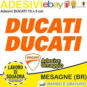 2-Adesivi-Sticker-DUCATI-serbatoio-916-996-998-999-748-PANIGALE-FACTORY-ARANCIO