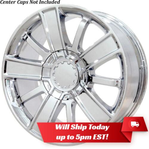 """New 20/"""" Chrome Wheel Rim for 2014-2018 Chevrolet Silverado 1500 High Country"""