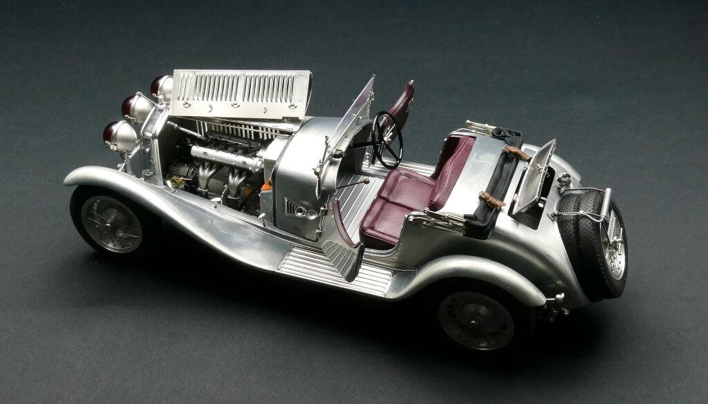 1930 ALFA ROMEO 6 C 1750 GS modèle par MCC en échelle 1 18 DIECAST MODEL M-142