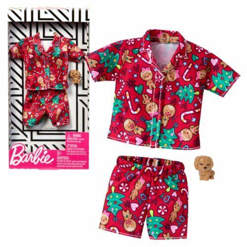 PigiamaNatale di BarbieMattel GGG49Moda Vestiti per Bambole