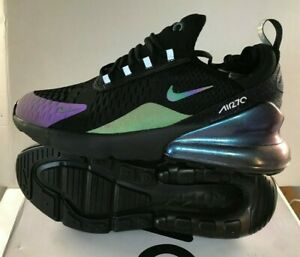 best sell factory authentic free shipping Details about Nike Air Max 270 black purple chameleon colour change Limted  Edtion Size uk 6-10