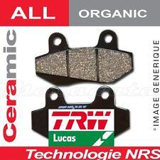 Plaquettes de frein Avant TRW Lucas MCB 589 pour Honda ZB 50 P (AB22) 88-