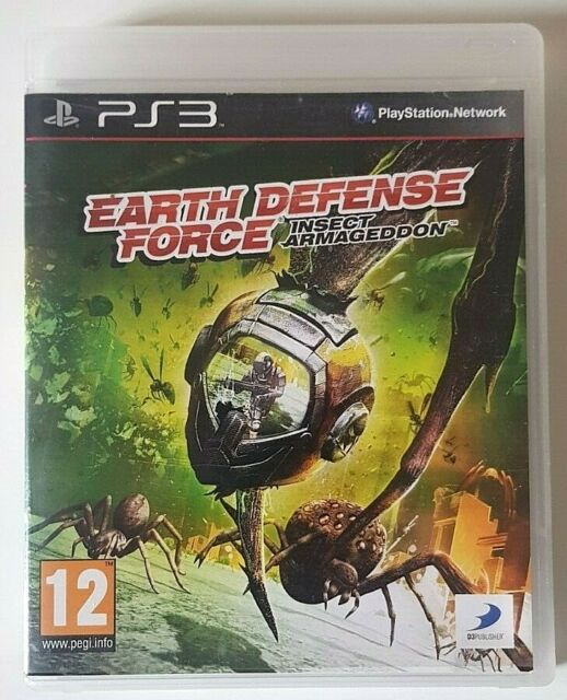 Earth Defense Force Insect Armageddon - PlayStation 3 PS3 - Complet