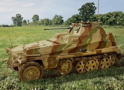 Aircraft (non-military) Dragon 1:3 5 6882 Half-track Sd.kfz.250/9 Can Be Repeatedly Remolded. Models & Kits