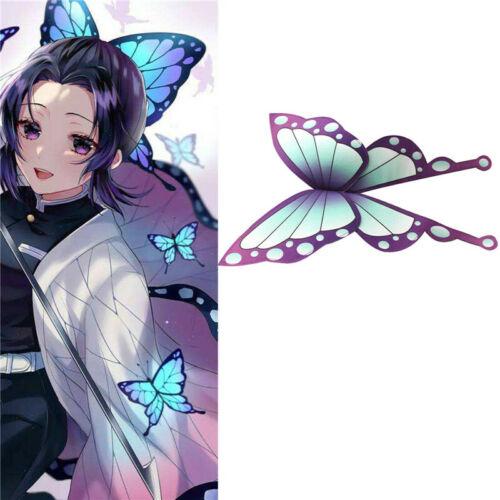 Demon Slayer Kimetsu no Yaiba Kochou Shinobu Cosplay Women Butterfly Hair Clip