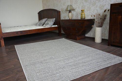 """Modern Natural Sisal Carpet /""""FLOORLUX/"""" Silver handy easy to clean"""