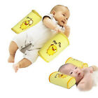 Baby Toddler Safe Cotton  Roll Pillow Sleep Head Positioner Anti-rollover Yellow