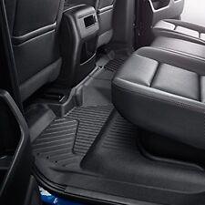 2014-2017 Chevrolet Silverado GMC Sierra - 2nd Row Black Floor Liners 23237402