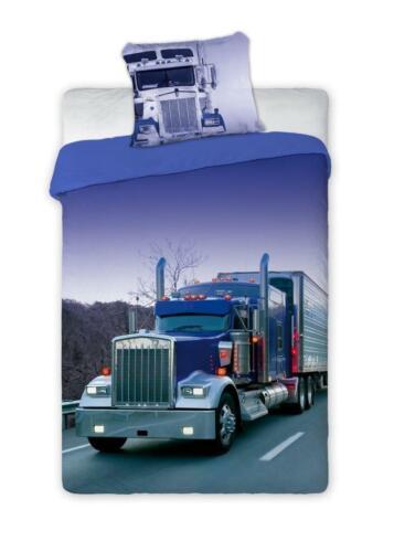 Truck Jugend Bettwäsche 140x200 cm