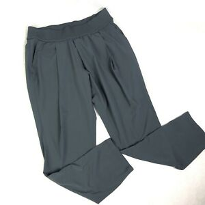 Athleta-Women-s-Pants-Athletic-Charcoal-Gray-Jogger-Pleated-Ankle-Jogger-Sz-10