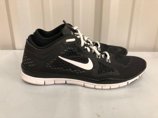 Women's Nike Free 5.0 TR Fit 4 Black White running training 629496 001