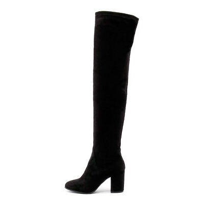 New Therapy Hanover Black Womens Shoes Casual Boots Long