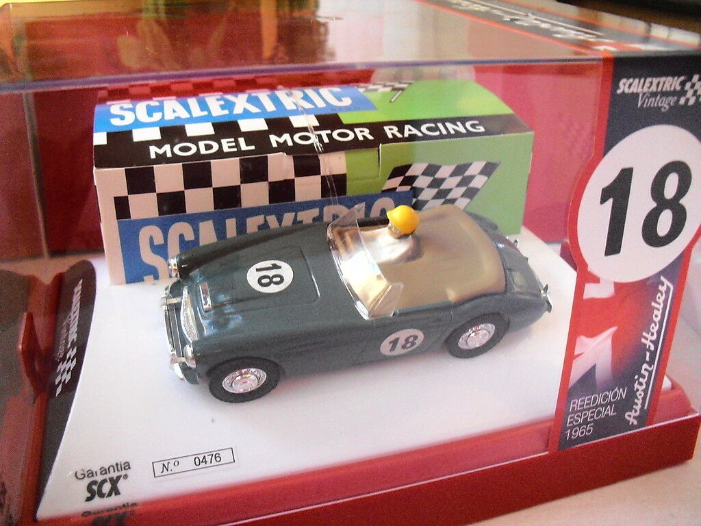 SCX Ref. A10118S300 Austin Healey Super Vintage Scalextric 1 32 New