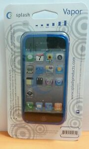 Splash-VAPOR-Slim-Fit-Flex-Case-for-iPhone-5-Screen-Protector-Included-BLUE