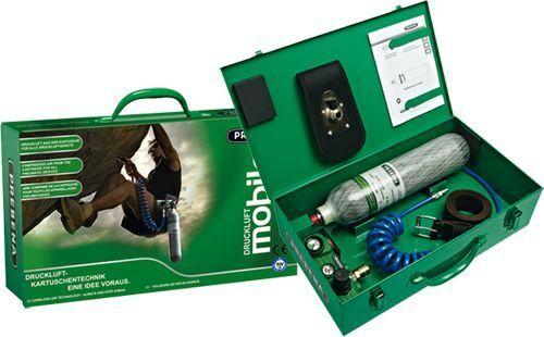 PREBENA MOBILO Druckluft aus der Kartusche für alle Druckluftwerkzeuge  b. 10bar
