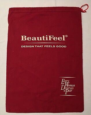 "BEAUTIFEEL Drawstring Logo Dust Bag 10 1//2/"" x 14 1//2/"" Purse Shoes Storage Cover"