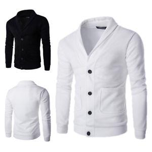 Men-039-s-Stylish-Slim-Cardigan-Sweater-Knitting-Sweater-M-2XL-Hot-Sale-Coat-Fit