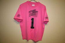 VTG volleyball pink powerade neon 90's T-Shirt Mens XL beach blast