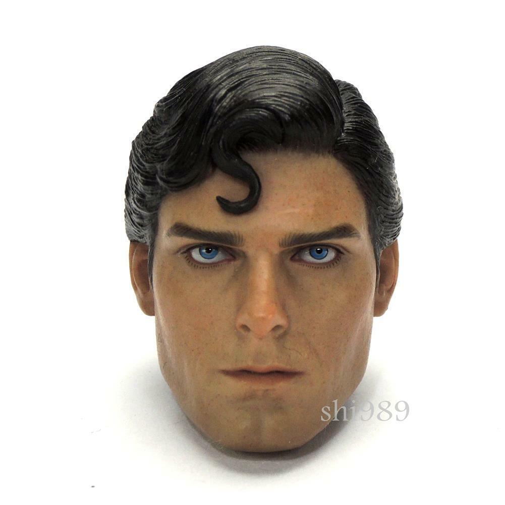 SUPERuomo MMS152 giocattoli caliente Christopher Reeve 1978 16 TESTA SCOLPIRE