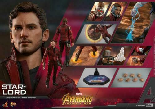1 6 HotToys HT MMS539 Avengers 3 Infinite War Star-Lord Collectible Toy Gifts