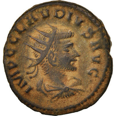 Billon Waterproof Shock-Resistant And Antimagnetic #410365 gothicus Antioch Practical Claudius Ii 50-53 Au Antoninianus
