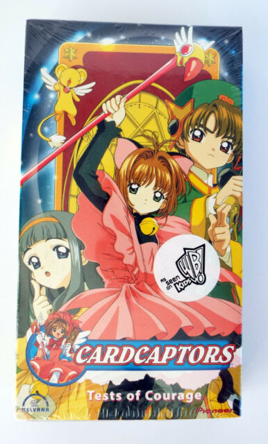 CARDCAPTORS Test of Courage VHS Tape Sealed Movie
