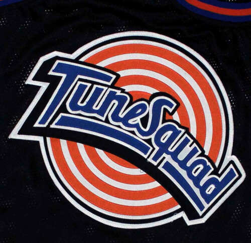 CUSTOM NAME /& #  TUNE SQUAD SPACE JAM MOVIE BASKETBALL JERSEY NEW SEWN ANY SIZE