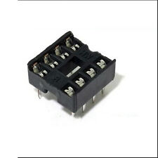 20PCS 8 Pin DIP8 Integrated Circuit IC Sockets Adaptor Solder Type Best  Fine VV
