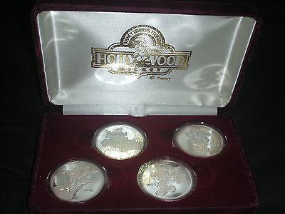 Disney Studios Florida - Hollywood Mickey Silver medal collection (Set of four)