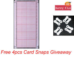 10pcs Blank Punch Card For Brother Singer Knitting Machine Punchcard