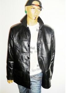 Black di S Giacca Design Lunghezza in Us M Timeless nappa pelle dell'anca agnello da uomo L gr BSfqP4wSx