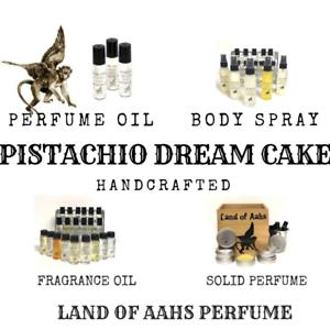 PISTACHIO-DREAM-CAKE-Perfume-Body-Spray-Fragrance-Oil-Tonka-Bean-Scent