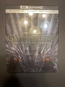 Game-Of-Thrones-Season-8-4K-Blu-Ray-Digtal-New-And-Sealed