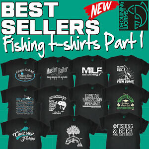 Men-039-s-Fishing-T-Shirts-Love-Fish-The-perfect-gift-fathers-day-birthday-T-Shirt-1