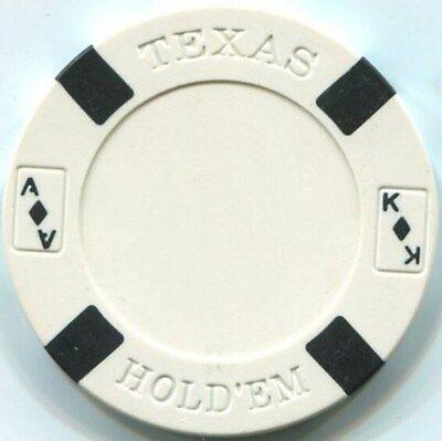 5 pc 5 colors 11.5 gm Holdem poker chips samples set #7