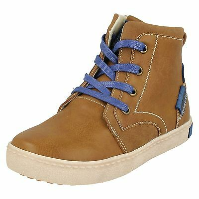 Boys JCDees Lace Up High Top Walking Boots - N2038