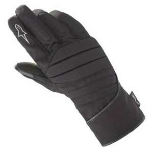 Alpinestars-SR-3-V2-Drystar-Motorcycle-Motorbike-Waterproof-Gloves-Black