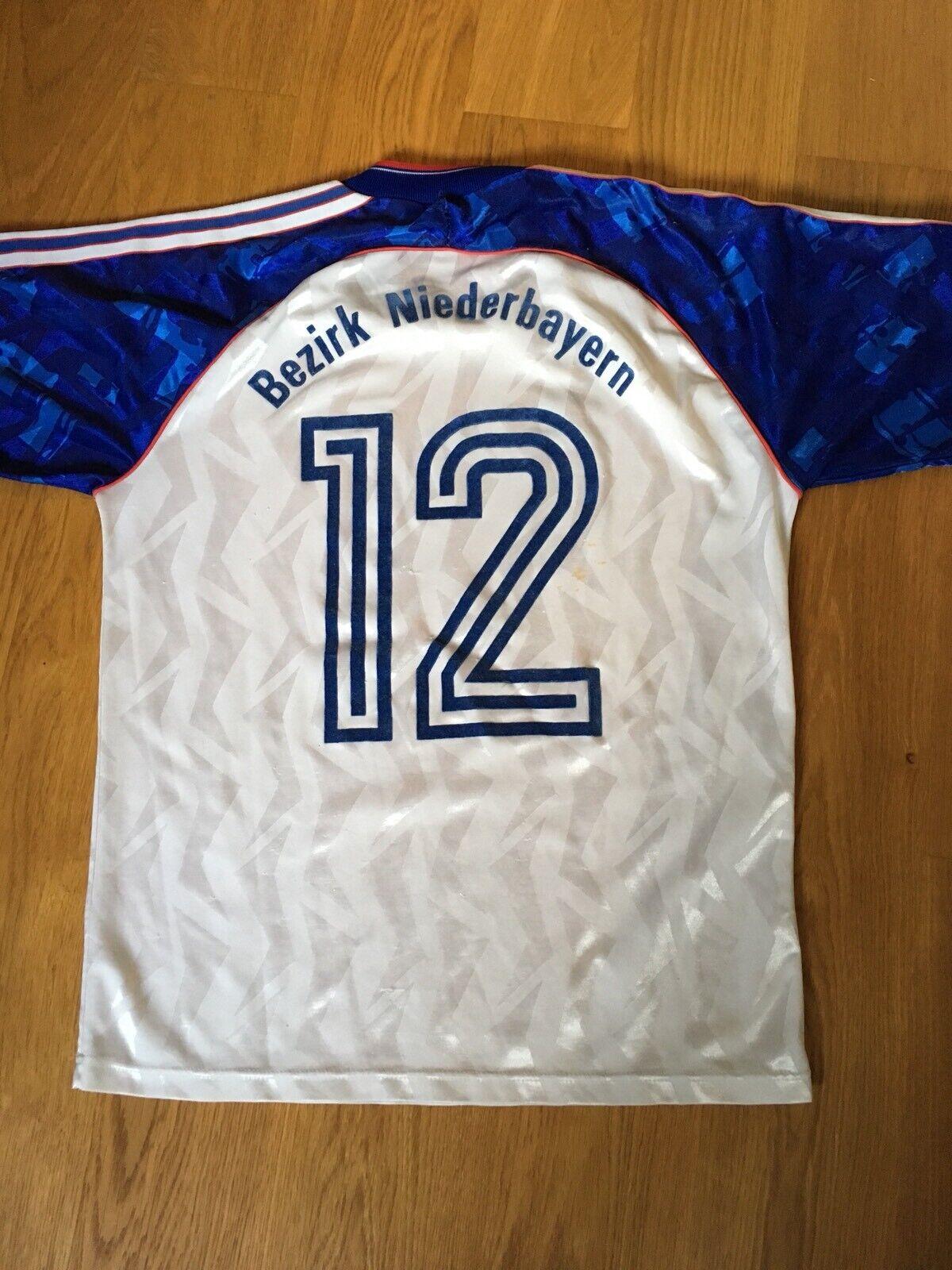 Bezirk Niederbayern maglia shirt jersey maillot worn issued match France Adidas