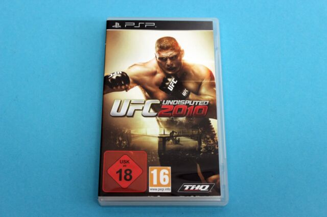 Playstation Portable PSP Spiel - UFC UNDISPUTED 2010 - Komplett in OVP