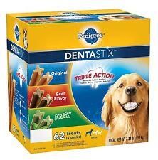 Pedigree DentaStix Dog Treats Variety Pack 3.34 lbs Healthy And Great 62 ct