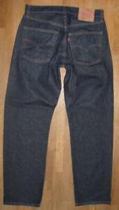 """"""" Levi `S 521 """" D'Homme Jeans / Bleu En Noir-Bleu Env. W33 """" / L32 """""""