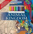 Animal Kingdom Color Your Way to Calm by Newbourne Media 9781988137209