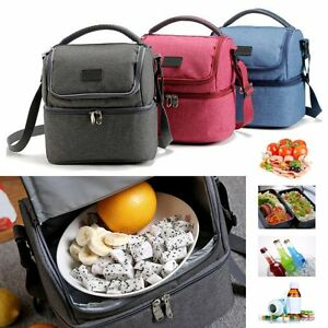 Lunch-Box-Bag-Tote-Hot-Cold-Insulated-Thermal-Cooler-Travel-Work-School-Picnic