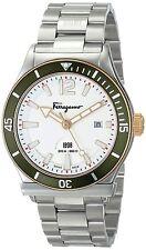 NEW Salvatore Ferragamo Men's FF3150014  1898 Sport Stainless Steel Watch
