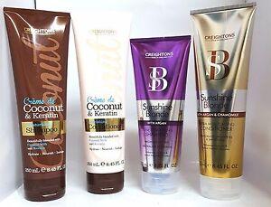 Creightons-Cocco-amp-cheratina-Sunshine-Biondo-con-Argan-Shampoo-amp-Balsamo